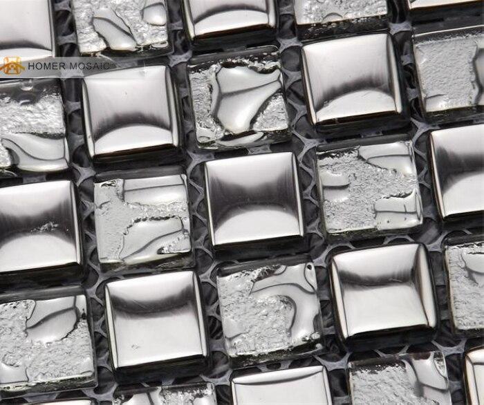 free shipping light grey glass mosaic tiles 12x12 bathroom tiles homer mosaic hmm1038 wall floor and backsplash