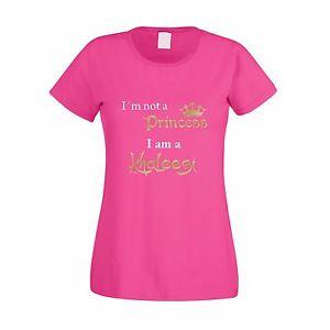 I M Not A Princess I Am A Khaleesi T Shirt Women Printed Short Sleeve Casual