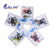 iLure 15pcs/bag Plastic Fishing Rod Pole Hook Keeper for Lockt Bait Bucket Height Safety Holder Fishing tackle Accessories Pesca