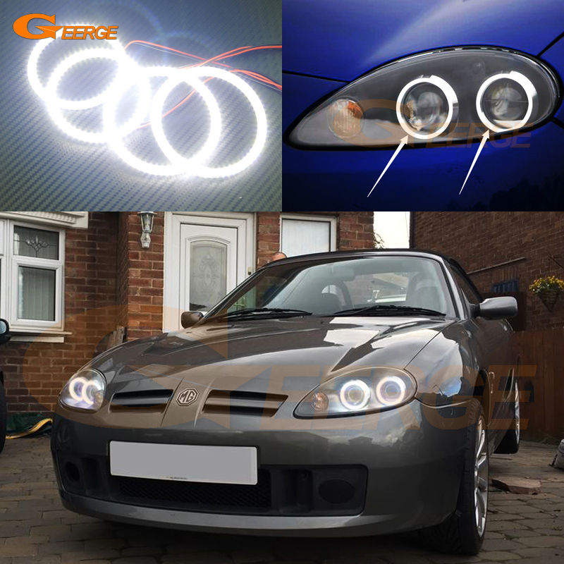 For MG TF MGTF 2002-2010 Excellent led angel eyes Ultra bright illumination smd led Angel Eyes Halo Ring kit for lexus rx450h rx350 rx270 2010 2011 2012 excellent led angel eyes ultra bright illumination smd led angel eyes halo ring kit