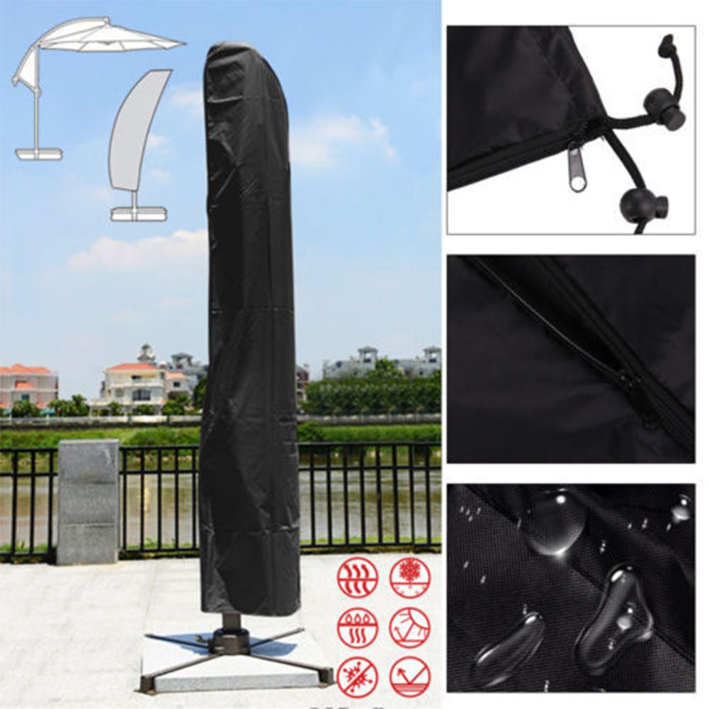 Waterproof Straight Banana Umbrella Cover For Outdoor Garden Patio