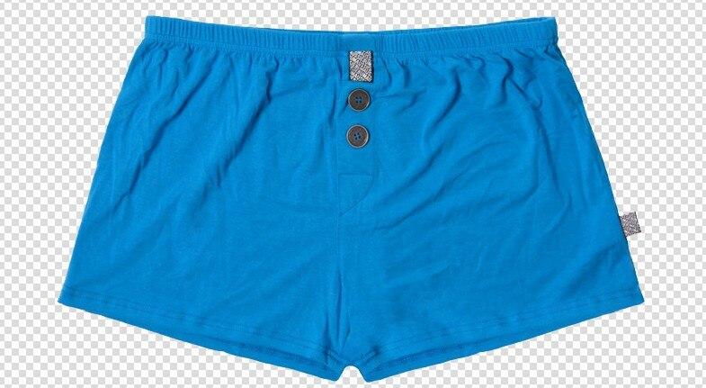 Brand AUSTINBEM Solid Underwear Soft Modal Home Pant Mens Underwear Sexy Pajama Man Underwear Leisure Boxer Shorts