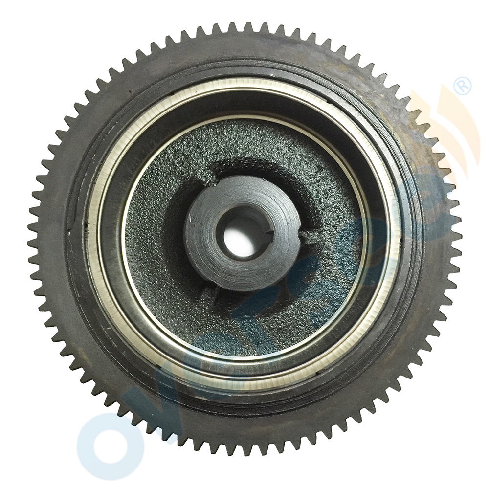 Fit YAMAHA Outboard F15 4 STROKE ROTOR / FLYWHEEL ASSY #66M-85550-10