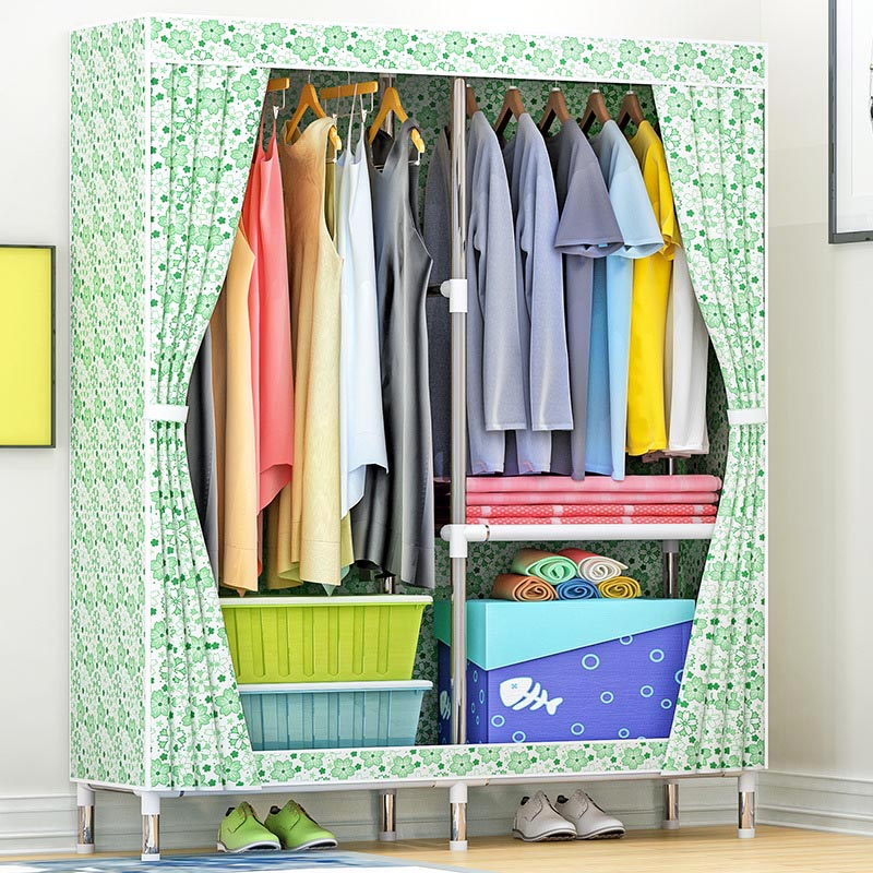 Simple combination wardrobe large assembly cloth wardrobe moisture-proof dust-proof storage cabinet home furniture electronic dry cabinet moisture proof box slrs lens protect 80liter super capacity