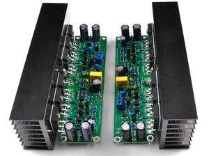 Image 1 - Assembled L15 2 channels MOSFET power amplifier board with heatsink