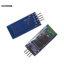 50 pcs HC 06 블루투스 시리얼 패스 스루 모듈 무선 시리얼 통신 arduino 용 무선 hc06