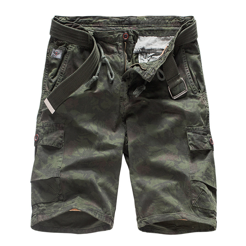 Men's Clothing Dedicated 2019 New Arrival Army Cargo Shorts Men Multi Pocket Casual Design Fashion Shorts Homme Cotton Loose Blue Khaki Shorts,l1101 High Quality Materials