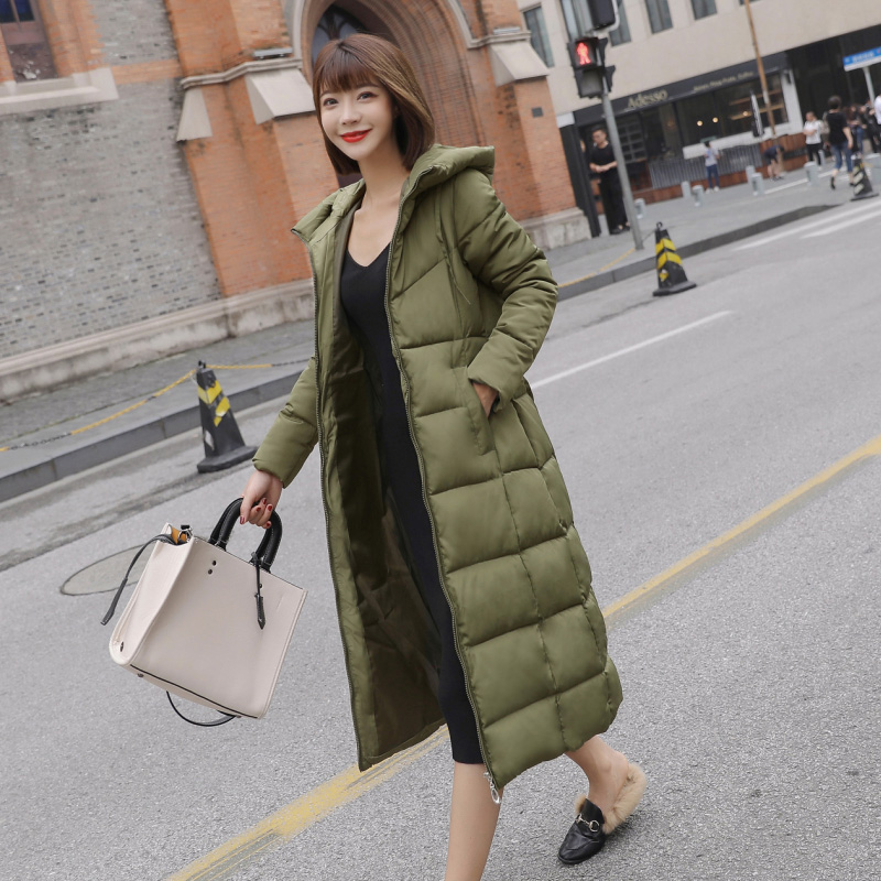 Duck D own Jacket Women Winter 2018 Outerwear Coats Female Long Casual Light ultra thin Warm puffer jacket Parka branded