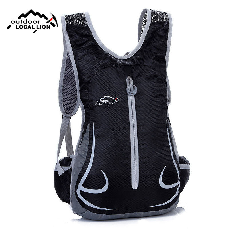 LOCALLION Bicycle Backpack Running Outdoor Sports Backpacks Mountaineering Hiking Camping Sport Bags Cycling Bike Bag XA144WA tito titanium bottle bicycle drinkware bottle outdoor camping cycling hiking sport bike titanium lid 750ml titanium bike bottle