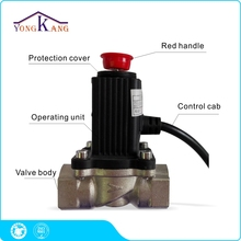 Yongkang DN20 Solenoid Valve for Gas Pipeline Automatic Shut Off Work with Gas Alarm