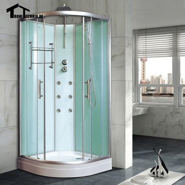 800 Mm Kandang R Mandi Kabin Shower Cubicle Non Uap Bilik Sudut Mewah Kaca