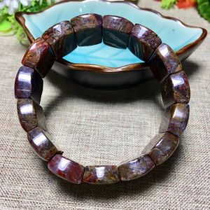 Image 2 - Wholesale Pietersite Stone Natural Stone Bracelets Pattern Energy Stone Hand Row Lucky for Women Men Gift Wrist Crystal Jewelry