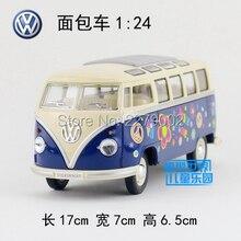 KINSMART Modelli In Metallo Pressofuso/1:24 Scale/1962 Volkswagen Classico Bus con la stampa giocattoli/per bambini regali/per le collezioni