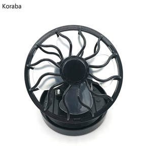 Air Cooling Fan Portable Car Clip On Solar Cell Fan Cooling Sun Power Energy Panel