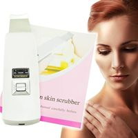 2016 Quality Guaranteed Rechargeable Ultrasonic Ion Skin Scrubber Microdermabrasion Facial Massager Spa Beauty Machine