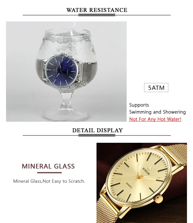 HTB1thttkcnI8KJjSsziq6z8QpXad WWOOR Men Simple Slim Quartz Watch Gold Steel Mesh Ultra Thin Men Watches Luxury Brand Waterproof Male Wrist Watch Golden Clock