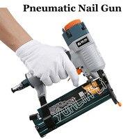Pneumatic Nail Gun 3 in 1 Carpenter Woodworking Air Stapler