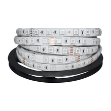 DC24V Waterproof LED Strip 5050 fiexible light 60Led/m,5m/lot ,White,Warm white,Red,Green,Blue,RGB,led tape rope light