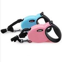 Best Selling Dog Leash Nylon Automatic Retractable Dog Leash 3M 4M 5M 2 Colors Lead Extending