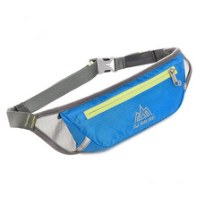 AONIJIE Outdoor Travel Breathable Nylon Sport Bag Marathon Running Waist Belt Invisible Phone Fanny Pack for Hiking Bike