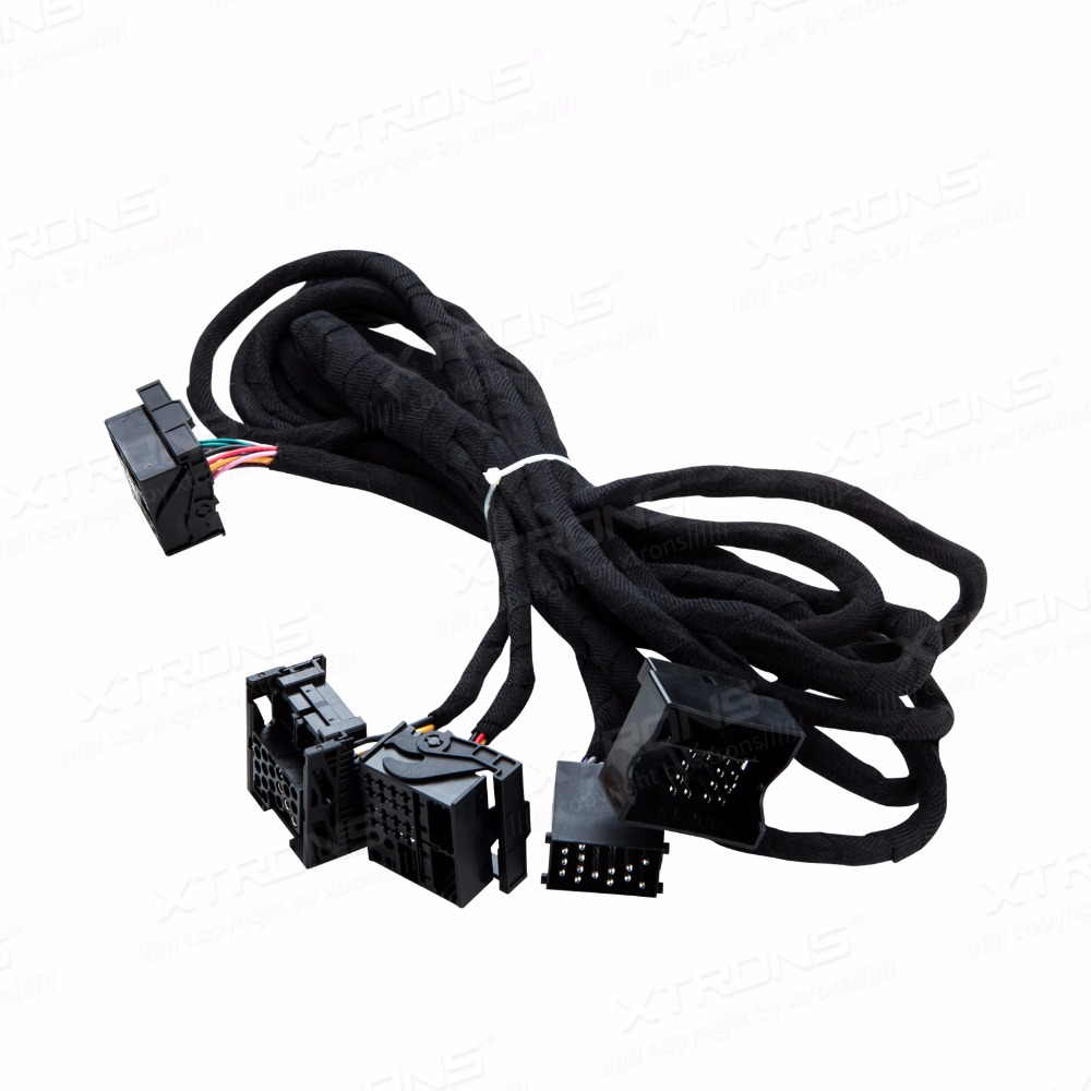 hight resolution of xtrons extra long 6 meters iso wiring harness for bmw suitable for head unit with quadlock connection exl005 exl006 exl007 in car diagnostic cables