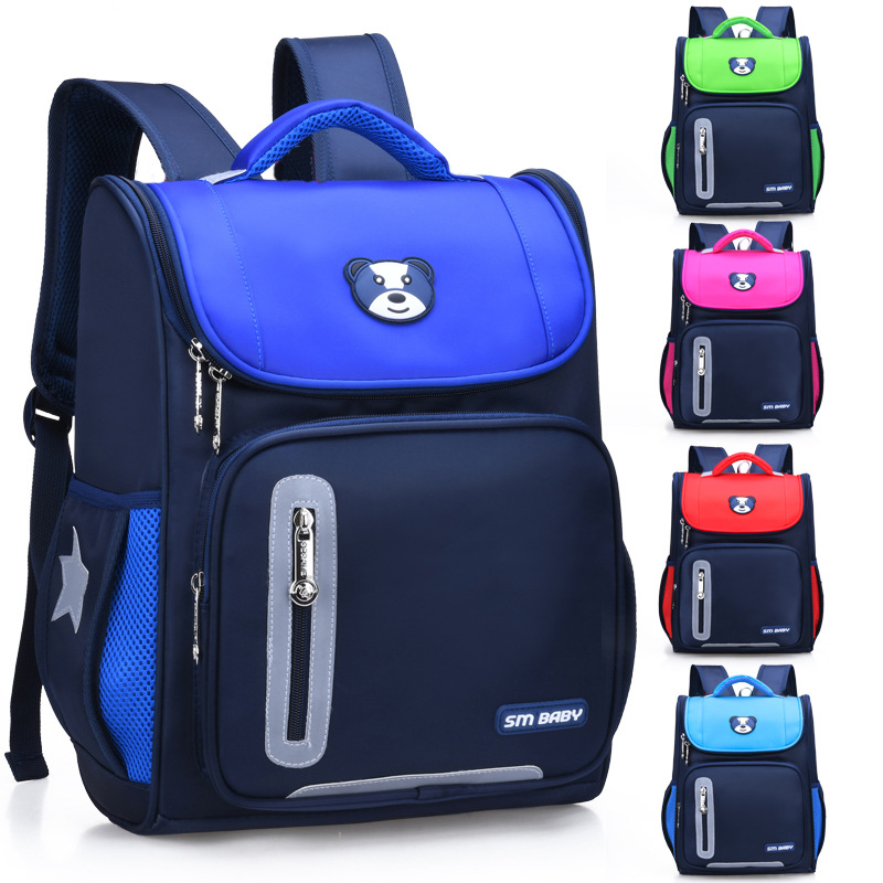 Children School Bags For Boys And Girls Backpacks School 3D Nylon Primary School Students Backpack Grade 1-4 Class Kids Knapsack
