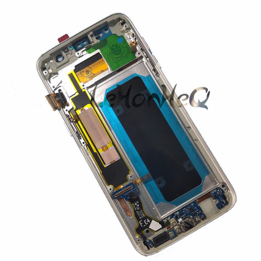 Mega Sale] Super AMOLED For Samsung Galaxy LCD S7 edge G935 G935F