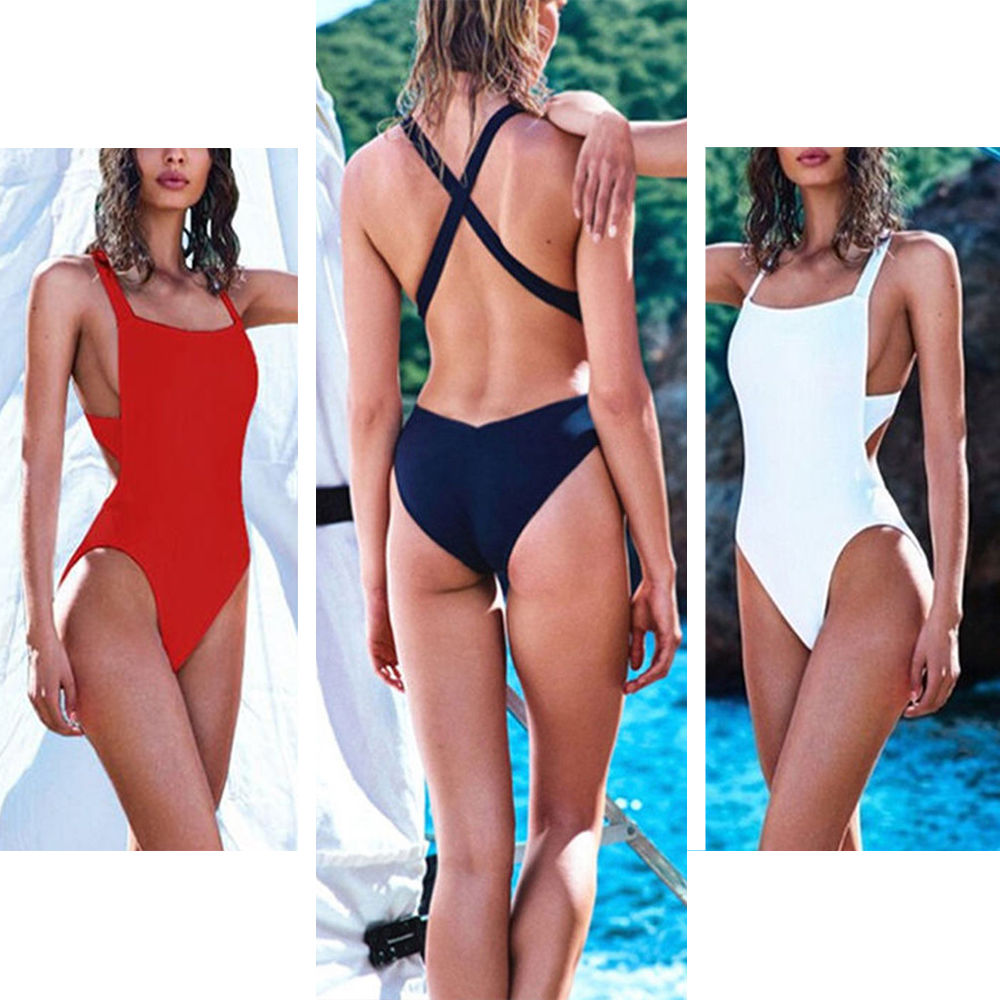 2018 New Arrival One Piece Backless Cross Swimwear Sexy Bandage Padded Swimsuit Women Bathing suits Beach Wear Monokini S M L XL adjustable pro safety equestrian horse riding vest eva padded body protector s m l xl xxl for men kids women camping hiking