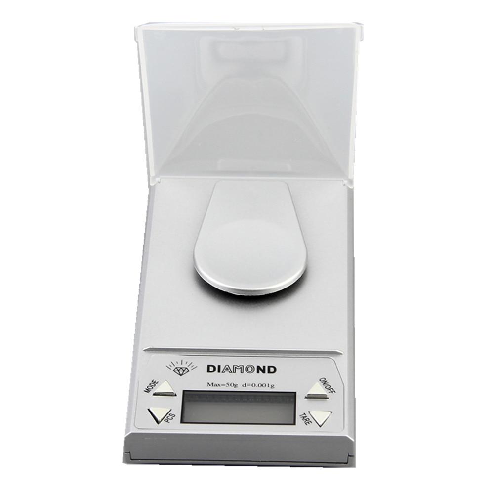OUTAD Bilancia digitale per gioielli di alta precisione 50g x 0,001g - Strumenti di misura - Fotografia 4