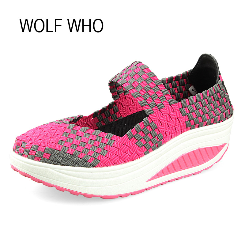 WOLF WHO 2017 Summer Women Krasovki Slipony Ladies Platform Shoes Female Tenis Feminino Casual Basket Femme Footwear x271 2017 spring autumn casual men s shoes basket femme chaussure tenis feminino male shoes sport krasovki trainers luxury presto