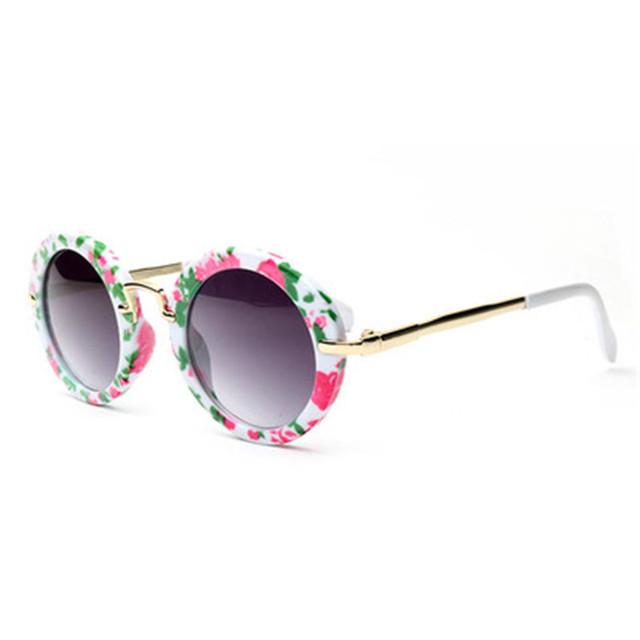2018 Kids Sunglasses for Girls Boys Children Glasses Classic Fashion alloy Baby Eyewear Beach Outdoor Sport Goggle  Oculos UV400