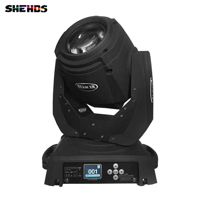 2pieces LED Beam 2R Lighting Moving Head DJ Spotlights Wash DMX for Disco KTV DJ Party Club professional stage lighting niugul dmx stage light mini 10w led spot moving head light led patterns lamp dj disco lighting 10w led gobo lights chandelier