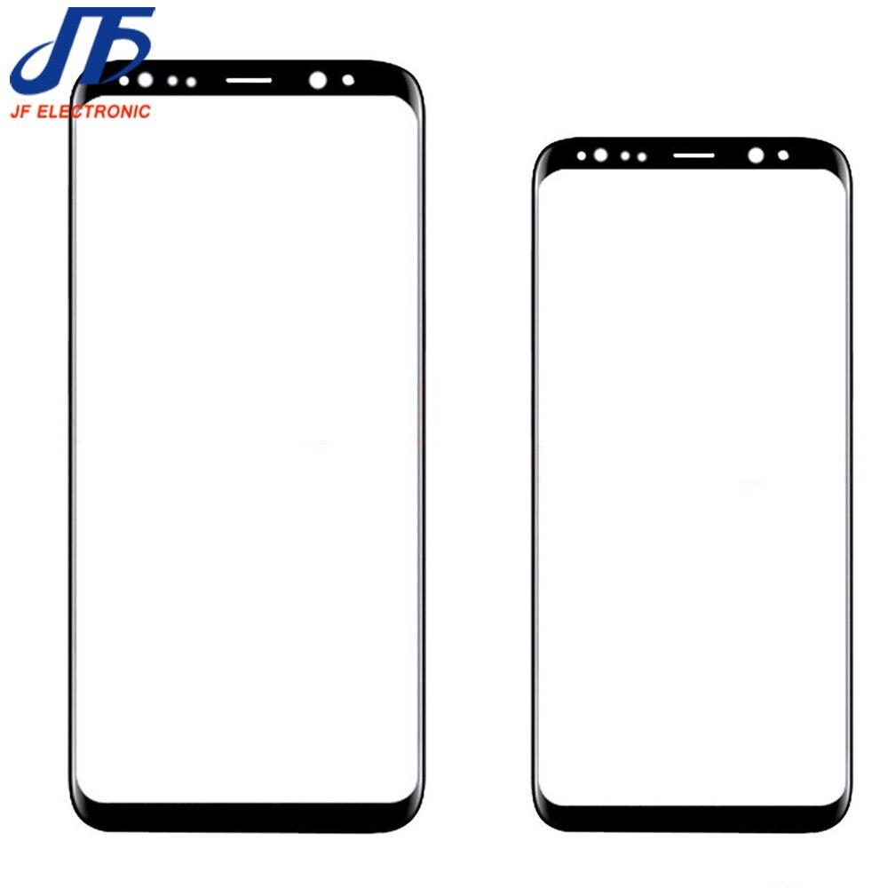 Écran tactile de Remplacement Pour Samsung Galaxy S8 G950 G950F/S8 + plus G955 noir Avant Outer Lentille En Verre 1 pcs