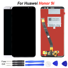 For Honor 9i LCD DIsplay for Huawei Nova 2i Display LCD Touch Screen Digitizer Panel Replacement Parts Assembly LLD-AL20 LLD-AL3 high quality for huawei honor 5x 2gb ram lcd lcd display touch screen digitizer assembly smartphone replacement parts