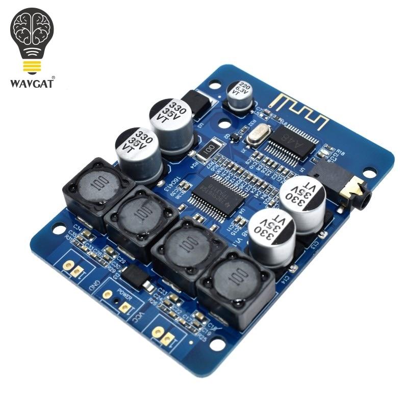 TPA3118 2x30W DC 8-26V Stereo audio Bluetooth Digital power Amplifier Board For diy Toys Model amplificador amplifiersTPA3118 2x30W DC 8-26V Stereo audio Bluetooth Digital power Amplifier Board For diy Toys Model amplificador amplifiers
