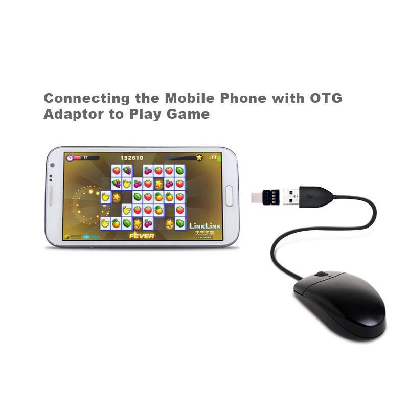 Practical Mini Micro USB 3.1 Type-C Type C U Disk OTG Converter Adapter For Android Phone Tablet