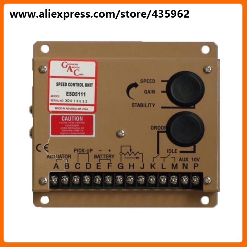 ESD5111 Electronic Speed Controller unit Speed Control for Generator high quality genset spare part dse702 as genset controller electronic auto start controller module generator