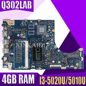 Q302LAB mainboard For ASUS Q302LA Q302L Q302LAB TP300LA laptop motherboard 100% Tested I3-5020U/5010U CPU 4GB RAM(China)