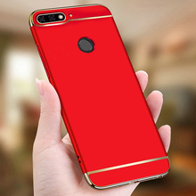 Honor 7A 3 in 1 Phone Cases For Huawei Pro Case Hard Plastic Back Coque Cover Honor7a pro y6 2018