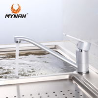 Russia Free Shipping Kitchen Faucet Mixer Water Tap Single Holder Single Hole Kitchen Grifo Rotation Rubinetto