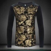 Top Quality T Shirts Mens Fashion 2017 Spring New Men S T Shirt Casual V Neck