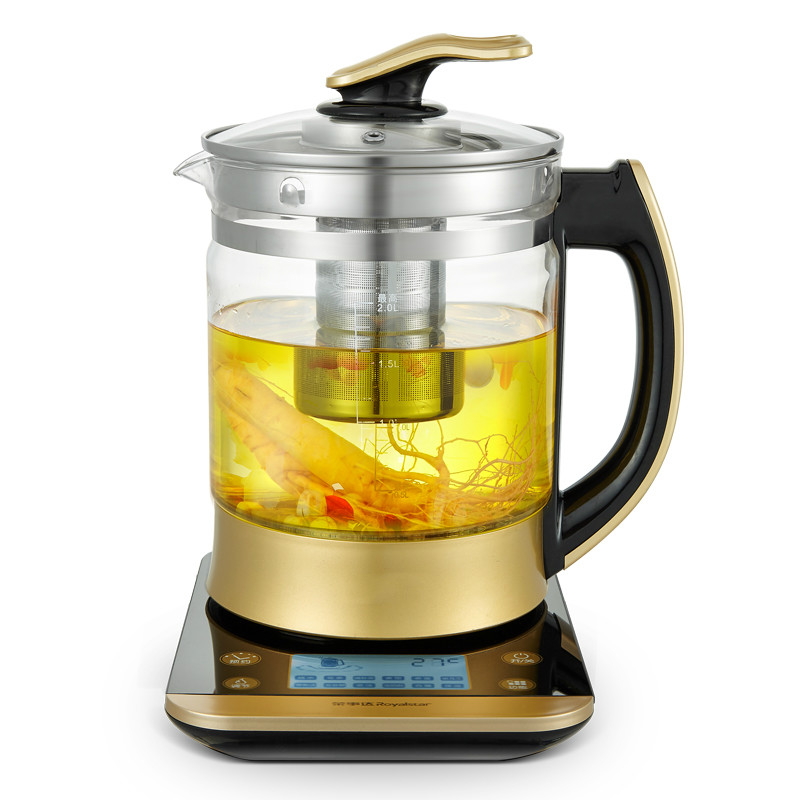 Electric kettle health pot fully automatic Add thick glass multi-functional boiling tea pot to raise body health pot mini automatic thickening glass multi purpose tea kettle flower tea pot boiling pot electric kettle