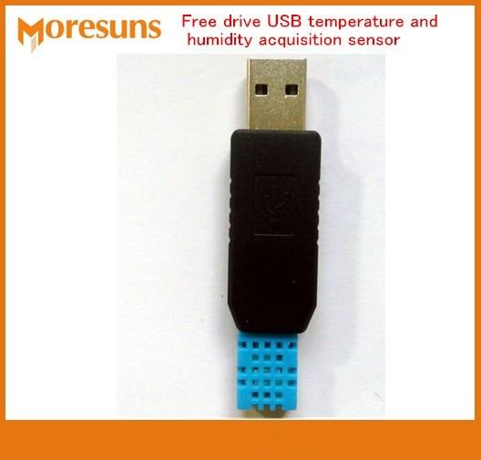 Free Ship Free drive USB temperature and humidity acquisition sensor(temperature,humidity) provide secondary development kit