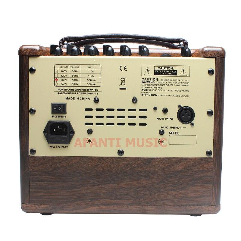 Afanti Music Acoustic Guitar Amplifier (AMP-125)