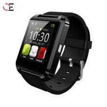 2017 Brand Bluetooth U8 Men Smart Watch Waterproof LED Military Black Sport Watch Fashion Clock Music