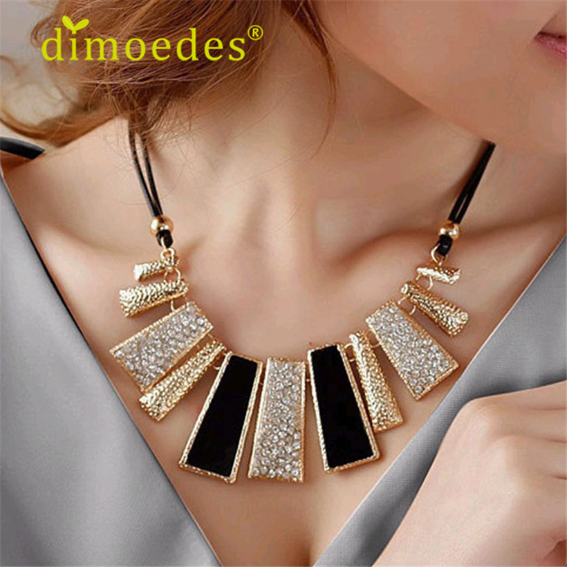 DIOMEDES Fashion Design Beads pendant Leather Braided Rope Chain ...