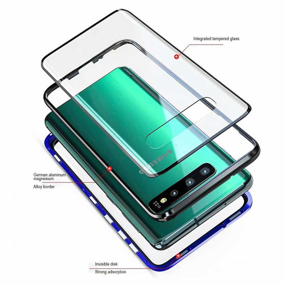 Heyytle étui pour samsung Galaxy S8 S9 Plus S10E étui pour samsung Note 8 9 360 magnétique en métal