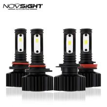 2pcs 2400Lm H11 H7 LED Car Lights LED Bulbs 9005 HB3 9006 HB4 White Daytime Running Lights DRL Fog Light 6000K 12V Driving Lamp