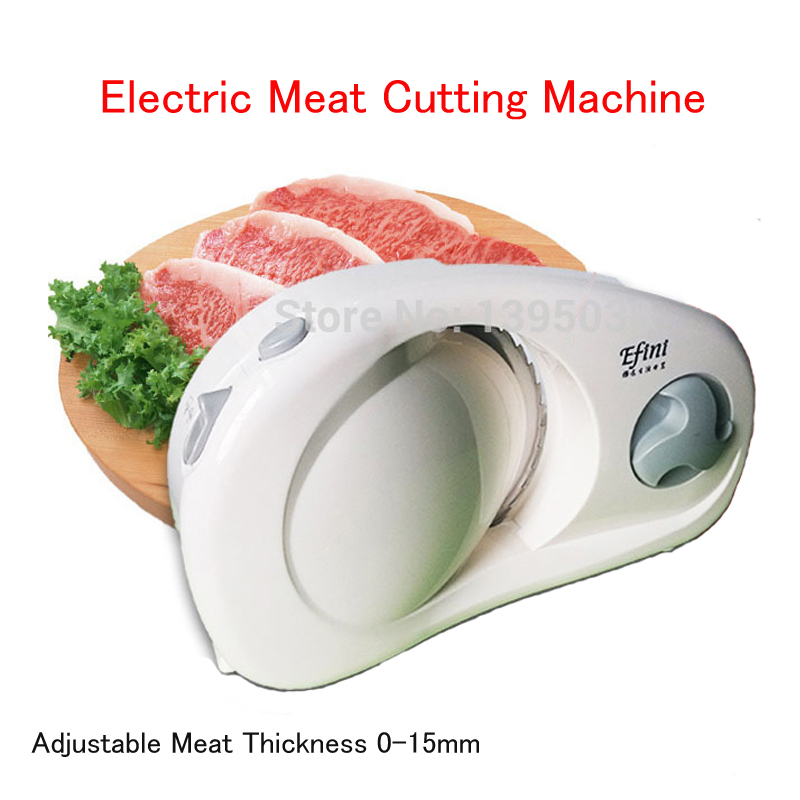 Mini Meat Slicer Household Electric Meat Cutting Machine Adjustable Meat Thickness 0-15mm Meat Grinder цена 2017