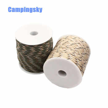 DHL freeshipping CAMPINGSKY Paracord 550 4mm rope 100FT Paracord survival Parachute Cord Lanyard Rope Climbing Camping survival - DISCOUNT ITEM  10% OFF Sports & Entertainment